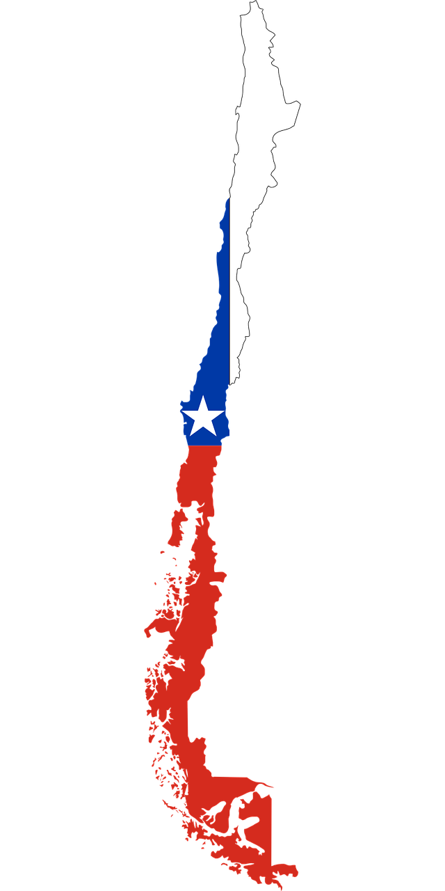 borders, chile, country